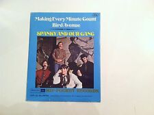 SPANKY AND OUR GANG - MAKING EVERY MINUTE COUNT - HIP POCKET 45 RPM    VG++