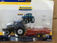 ERTL 1:64 New Holland T7070 Tractor  w/ V- Spreader
