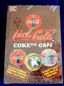 1995 Collect A Card Coca Cola Coke Cap Pog Game Slammers In Sealed Box
