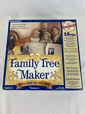 Family Tree Maker (Family Genealogy) by Broderbund,15 CDs , #1 Celling & Rated