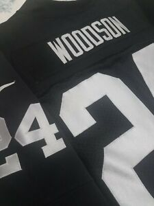 Charles Woodson Nike Vapor Elite Oakland LA LV Raiders jersey 48 XL HOF 2021 NWT
