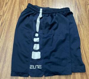 #618 Blue MEN NIKE Elite XL Dri-FIT SHORTS Basketball Shorts Good Condition