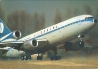 SABENA Belgian World Airlines DC10 ALBE 138m Colour postcard