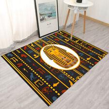Ancient Egypt Pharaoh Hieroglyphics Area Rugs Bedroom Living Room Floor Mat Rug