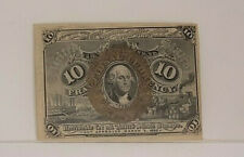 Fr. 1245 Second Issue 10c Fractional Currency Pcgs 63Ppq #80117005