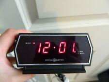 Vintage GE Digital Alarm Clock Model 8143-5 Tested Works General Electric