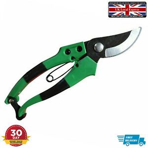 Bypass Garden Secateurs Plant Cutters Pruners Clippers Snipper Heavy Duty Tools