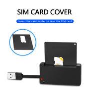 Rocketek USB 2.0 Smart Card Reader CAC ID,Bank card,sim card cloner connector