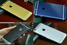 Metal Brushed Apple iPhone Skin Case Cover Sticker Vinyl Wrap Decal iPhone Skin