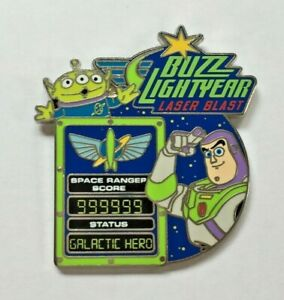 Disney Pin Badge Toy Story Buzz Lightyear Laser Blast