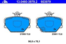 Bremsbelagsatz Scheibenbremse - ATE 13.0460-3979.2