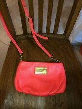 """MARC JACOBS CLASSIC """"Q"""" PERCY CROSSBODY - LEATHER BAG - ORANGE - USED ONCE"""
