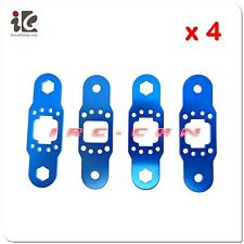 4Sets Main Blade Grip Metal Sheet for FXD A68690 68690 RC Helicopter Spare Parts