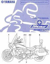 2010 YAMAHA STRATOLINER 1900 MOTORCYCLE OWNERS MANUAL -XV19CTSZ-YAMAHA