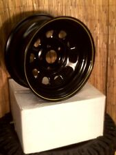 16 x 8 BLACK D MODULAR  RIMS For JEEP 5.114.3 (5 ON 4.5)  PCD  4x4s