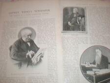 Photo article on Lloyd's Weekly newspaper1903
