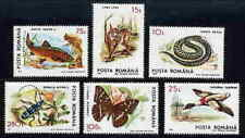 ROMANIA 1993 ANIMAL PROTECTION STAMPS - MINT COMPLETE SET!