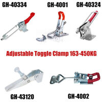 Metal Toggle Clamp Clip Latch Locking Catch Hold Tool For Drawer Toolbox Box UK