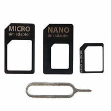SIMADAPTER KARTENADAPTER SET HANDY UNIVERSAL IPHONE SIM ADAPTER KARTE NADEL Z11