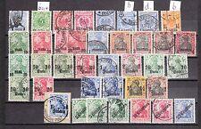DR 1884 - 1906  Deutsche Post Türkei  -  kl. Lot */gest.