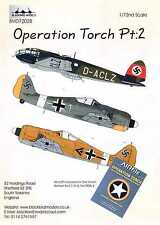 Blackbird Decals 1/72 OPERATION TORCH GERMAN AIRCRAFT Part 2