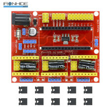CNC Shield V4 Engraving Machine Stepper Motor Driver for Arduino GRBL Compatible