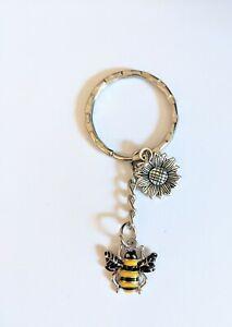 Bag charms keyring enamel bumble bee bag accessories
