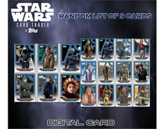 2019 GALACTIC FILES 2018 BLUE BASE RANDOM LOT OF 9 CARDS Topps Star Wars Digital