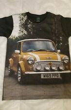 MINI COOPER UNISEX T SHIRT  CLASSIC CAR MENS WOMENS SIZE SMALL ASIAN