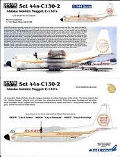DRAW DECAL Alaska Golden Nugget C-130 Hercules Decals 1/144  44s-C130-2