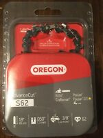 "Oregon 18"" S62 Chainsaw Chain 3/8 LP .050 62DL 91PX062 Cadena de Motosierra"