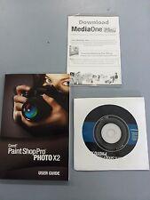 Corel PaintShop Paint Shop Pro X2 Digital Photo XP Vista Win 7 8 10