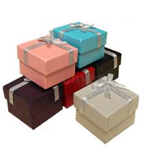 8 X Cajas De Regalo Joyería de Buena Calidad Collar Pulsera Anillo Caja pequeña al por mayor