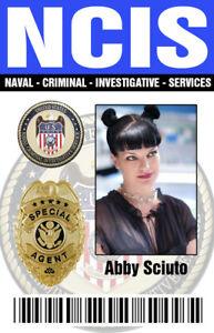 NCIS Abby Badge