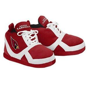 NWT NFL Arizona Cardinals Sneaker Team Slip-on Unisex Football Slippers (Large)
