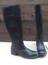 Liberitae Damen Stiefel Schwarz 41Leder Schuhe leicht gefüttert