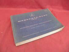 Factory Mercedes-Benz Grand 600 Spare Parts List Manual Edition C 10 164
