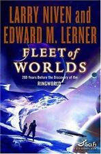 Fleet of Worlds (Known Space) by Larry Niven & Edward M Lerner 1st Ediiton