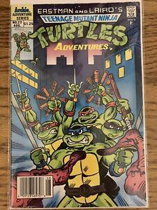ARCHIE COMICS TEENAGE MUTANT NINJA TURTLES ADVENTURES #23 FN 1st APP SLASH TMNT