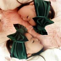 Toddler Girls Baby Big Bow Hairband Headbands Stretch Turban Knot Head Wraps