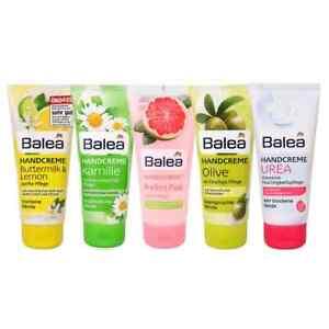 BALEA Hand Cream, Hyaluron, Shea butter, Lemon, Urea 100 ml