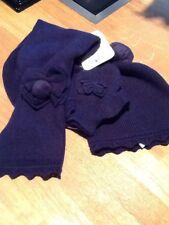 NUOVO Con Etichetta Mayoral Ragazze Cappello, sciarpa e muffole set 10370 età 12-18 mesi