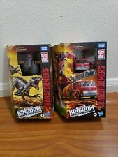 Transformers War For Cybertron Dinobot And Inferno 2lot