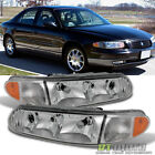 1997-2005 Buick Century 97-04 Regal Replacement Headlights Headlamps Left+Right  for sale