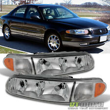 1997 2005 Buick Century 97 04 Regal Replacement Headlights Headlamps Left Right