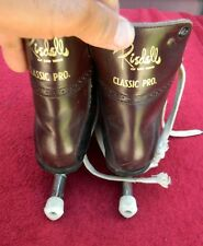 Vintage Riedell of Red Wing, Minn Youth Ice Skates Classic Pro Two tone 7-2/3