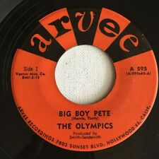 THE OLYMPICS, BIG BOY PETE, ARVEE#595, R&B 45 RECORD, 1960