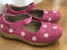 Puddle Jumper Shoes Pink Polka Dot Girls Size 30 US 13