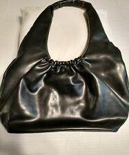 Nine West Women's Purse Brown Hobo Faux Leather Handbag, Snap Closure