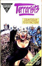 Terrarists 1993 series # 3 near mint comic book